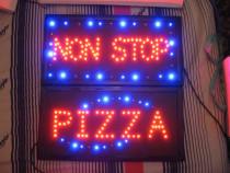 LED SIGN, panouri luminoase electrice, noi, la cutie, alimen