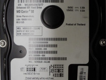 "Hard Disk-HDD Hitachi 80 Gb 3,5""-Defect CODE: WD800 WCAM9266"