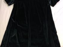 Rochie neagra din velur, Pull&bear. Marime L - XL