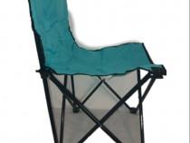 Scaun pliabil bleu cu husa pentru transport