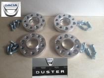 Flanse Distantiere Dacia Duster 25 mm cu prindere dubla