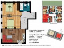 Metrou D.Leonida , apartament 3 camere