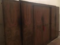 Sifonier 6 usi; lemn masiv; dulap stil vintage cu bara