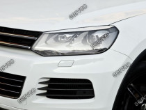 Set ornamente ABS pleoape faruri VW Touareg 7P5 11-15 v1
