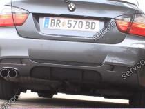 Difuzor lip buza spoiler bara spate BMW E90 E91 v1