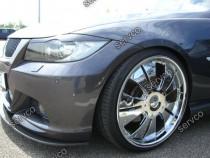Set ornamente ABS pleoape faruri BMW E90 E91 2005-2012 v1