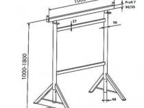 Capra metalica pentru zidarie