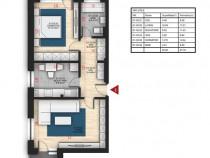 Apartament 2 camere foarte spatios si parcare, Auchan Titan
