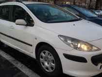 Peugeot 307 sw facelift, an 2008, 1.6hdi/16v/90cp, abs,pilot