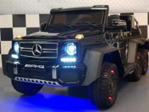Masinuta electrica Mercedes G63 6x6 Premium + suport Adult