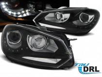 Far Golf 6 GTI cu functie DRL si bixenon (set faruri)