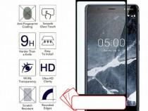 Nokia 2.1 3.1 5.1 6.1- Pachet Husa Silicon Neagra + Folie St