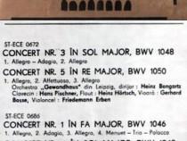 Concertele Brandenburgice BWV 1046-1051 - vinil
