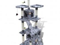 Ansamblu de joacă cu stâlp 170 cm 2 căsuțe(170095)