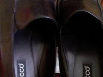 Pantofi Ecco piele nr.40 negru