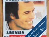 """Album original CD Julio Iglesias - """"America"""""""