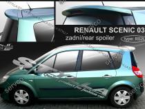 Eleron haion luneta spoiler tuning sport Renault Scenic v2