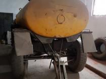 Cisterna motorina / apa 3600 l, MIG azot 600 kg