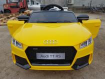 Mașina electrică Audi TT RS 2x 25W 12V cu Music Player