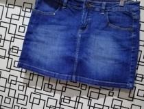 Fusta jeans Vero Moda