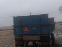 Tractor U445 + Remorca + Cositoare