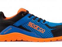 Pantofi protectie s1p,sparco,practice,portocaliu,bombeu