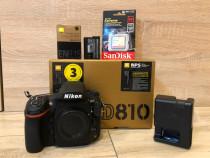 Nikon D810 2 ani garantie