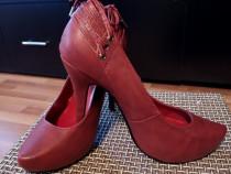 Pantofi stiletto visinii