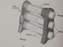 Instalație de filtrarea apei, Osmoza Inversa Merlin