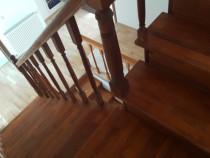 Executam Scari interioare din lemn masiv
