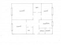 Apartament cu 3 camere, finisat, Marasti