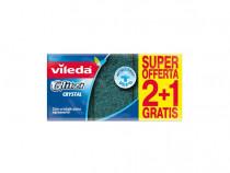 Bureti antibacterici Vileda Glitzi Crystal 3 buc 10x7x2,5 cm