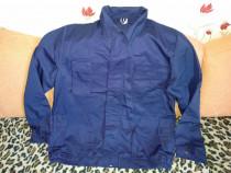 Costum salopeta bleumarin bumbac 100% mar 54