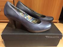 Pantofi din piele Tamaris