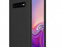 Husa Telefon Silicon Samsung Galaxy S10 g973 Liquid Black