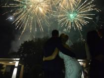 Artificii Satu Mare Nunta - Gheata Carbonica - Fum greu