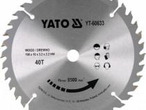 Disc Circular pentru Lemn YATO-YT-60633