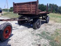 Remorca 7,5 tone basculabila 3 parti