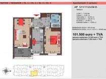 Decebal - finalizat apartament 2 camere