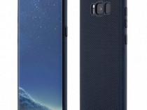 Husa telefon plastic samsung galaxy s8 plus g955 dark blue c