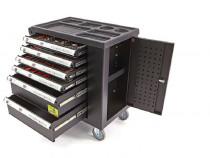 Dulap scule echipat 6 sertare 154 piese ebn0709