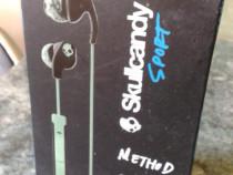 Casti stereo in-ear SkullCandy Method Black /Mint Swirl(noi)