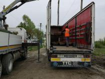 Prestări servicii /transport cu Camion cu Macara
