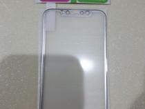 Folii sticla iphone x culoare silver