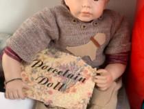Papusa bebe de portelan