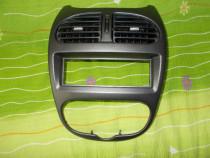 Consola grila centrala bord Peugeot 206