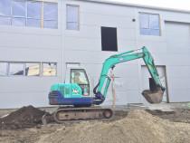 Închiriez. Excavator (Miniexcavator) Yannmar -5,5 tone