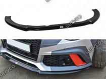 Prelungire splitter bara fata Audi RS6 C7 2012- 2018 v7