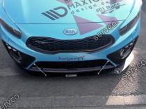 Prelungire splitter bara fata Kia Ceed GT MK2 2013-2018 v3