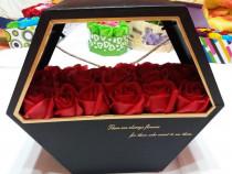 Aranjamente din trandafiri de sapun